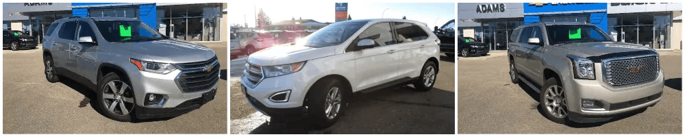 New and Used SUVs in Wetaskiwin