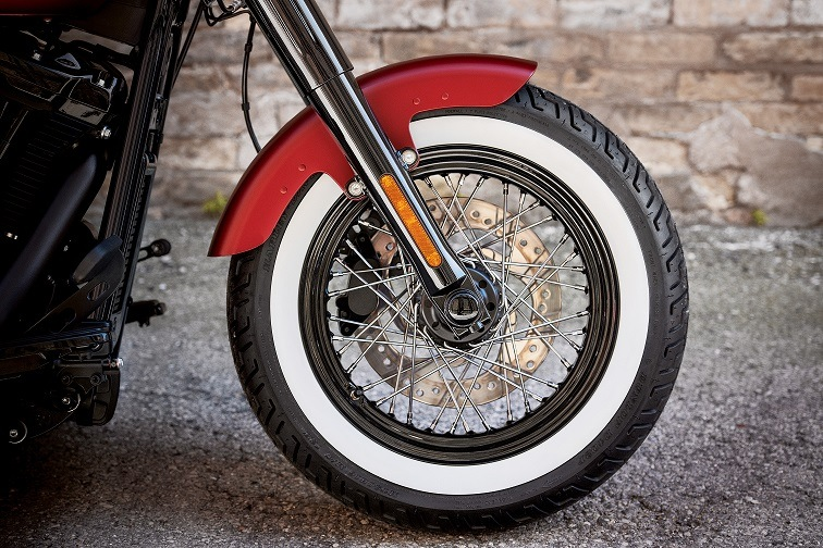 H-D White wall Tire - Softail