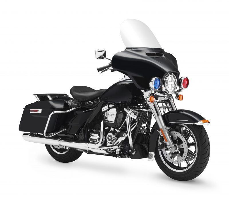 Police Unit Harley-Davidson Motorcycle