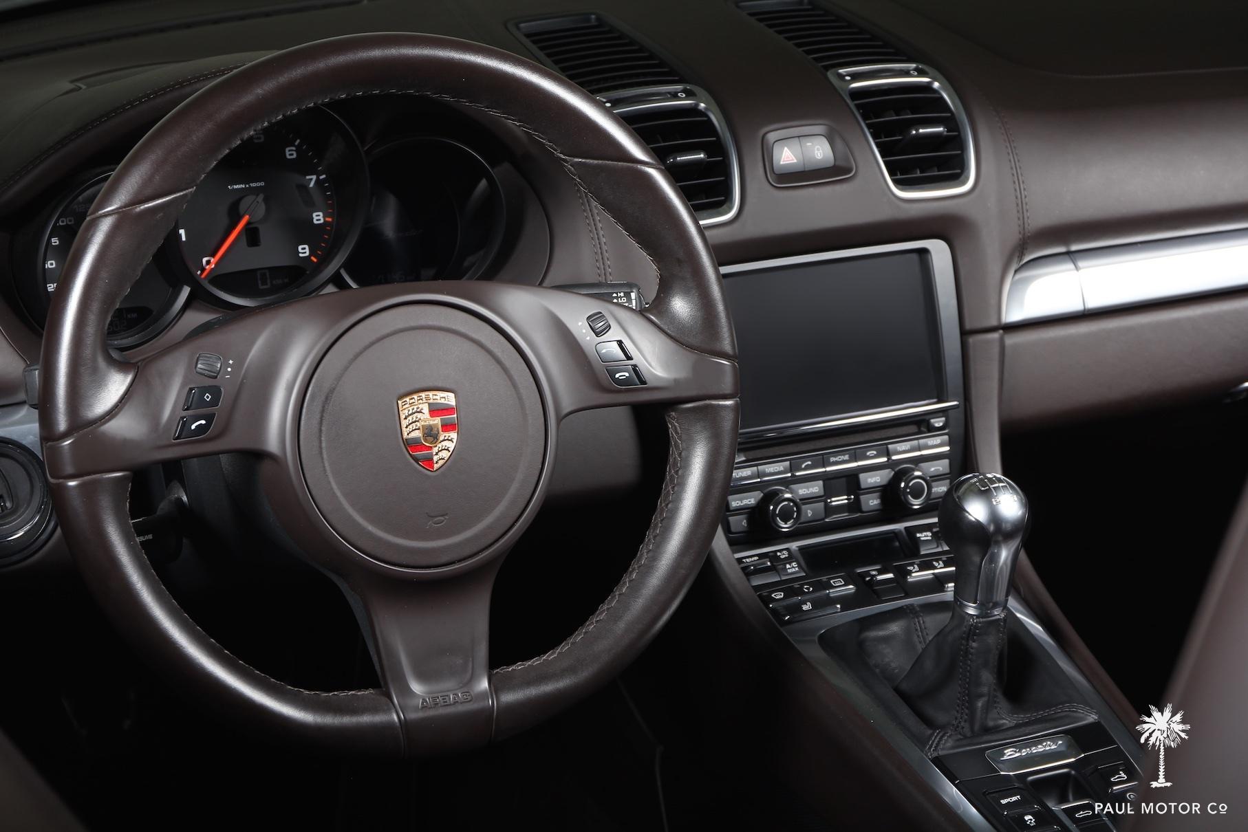 2013 Porsche Boxster (intérieur)