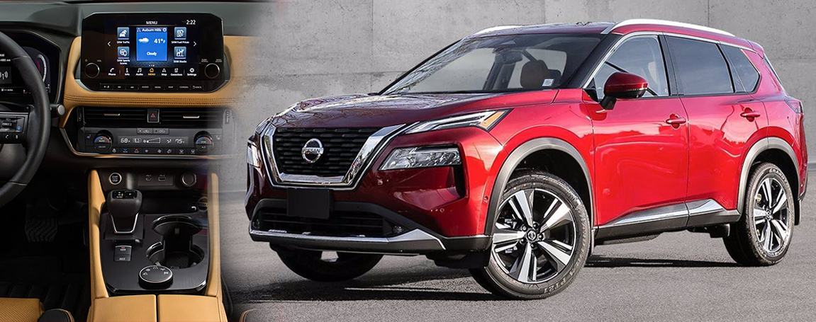 Nissan Rogue 2021 | Features and infotainment