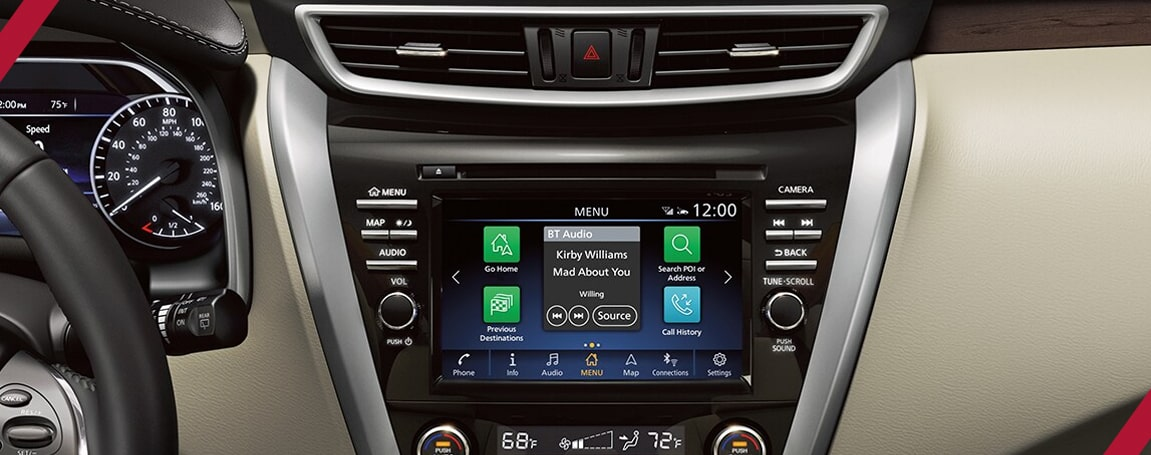 Nissan Murano | Infotainment Features