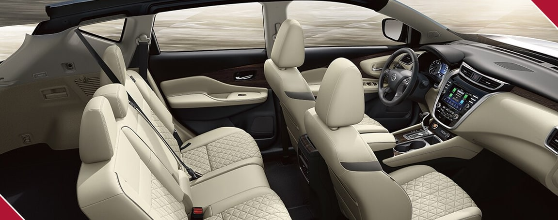 Nissan Murano | Safety Features and Cabin Seats