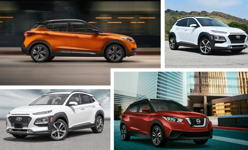 2020 Nissan Kicks vs 2020 Hyundai Kona