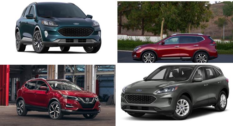 2020 Nissan Rogue vs 2020 Ford Escape