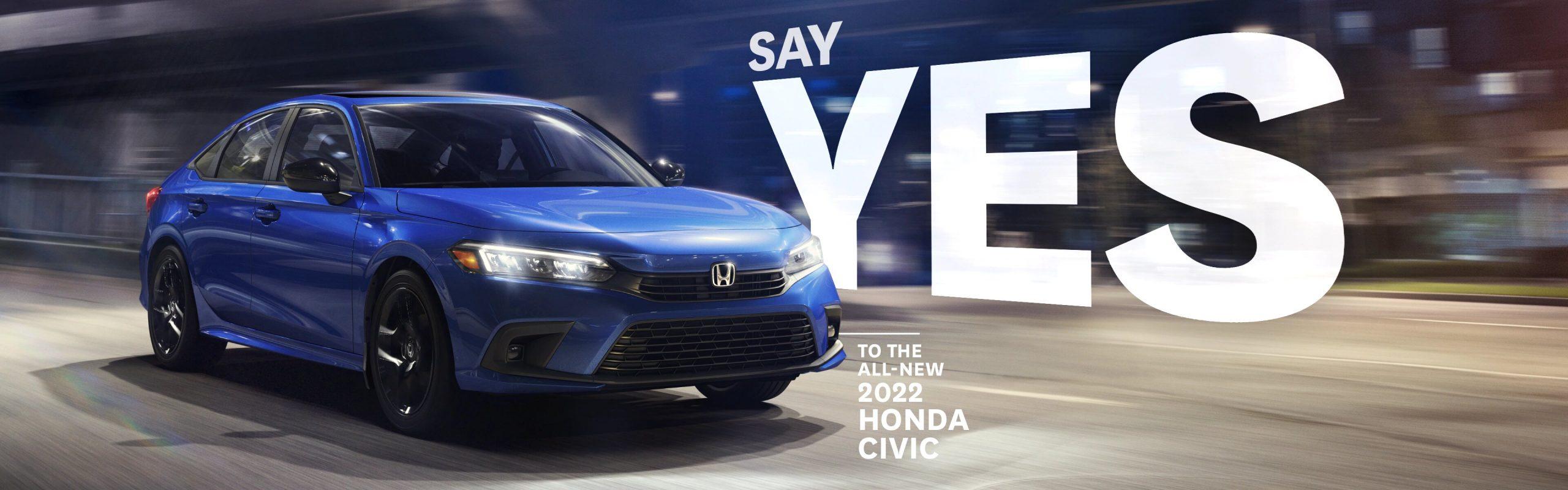 New 2022 Honda Civic