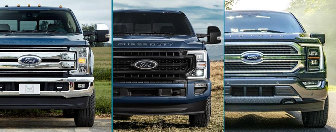 Ford Truck Design Comparison