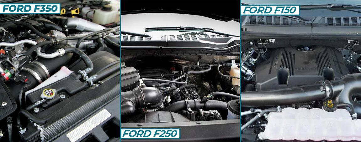Ford truck F Engine Comparison