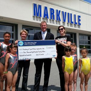 Markville Lincoln recently hosted a Drive