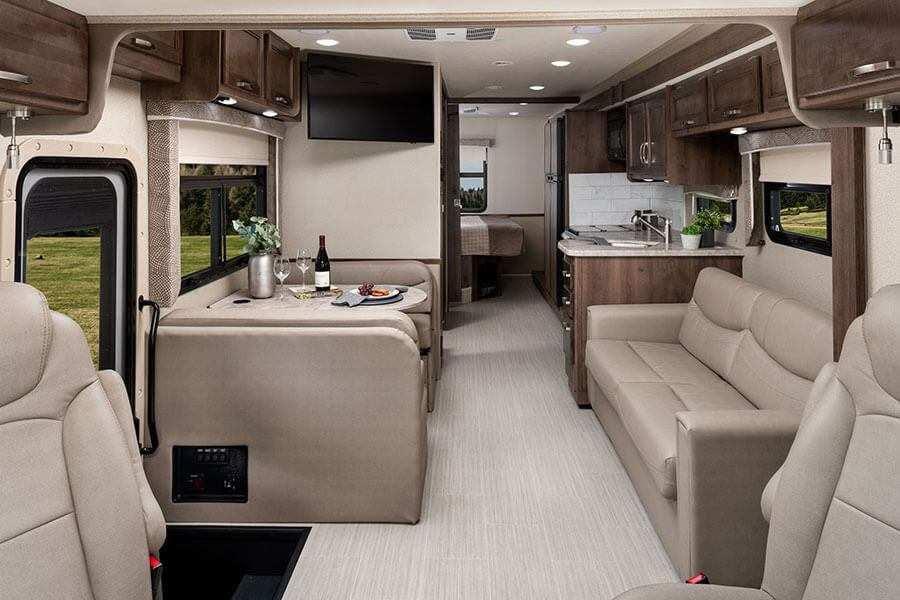 Intérieur Classe A VR Vision d'Entegra Coach