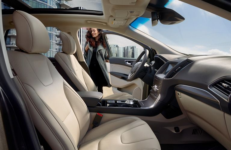 2020 Ford EcoSport interior seat view