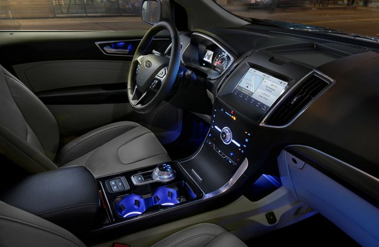 2020 Ford EcoSport interior dash and wheel view