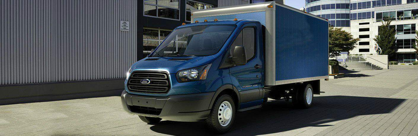 Blue_2018_Ford_Transit_Chassis_Cab_Parked_by_a_Warehouse_o