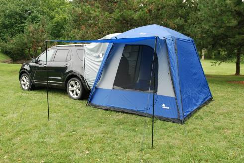 Napier-Sportz-SUV-Tent-Attached-to-a-Black-Ford-Escape_o