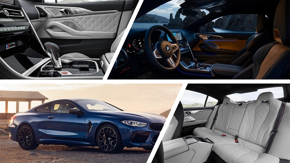 2020 BMW M8 interior