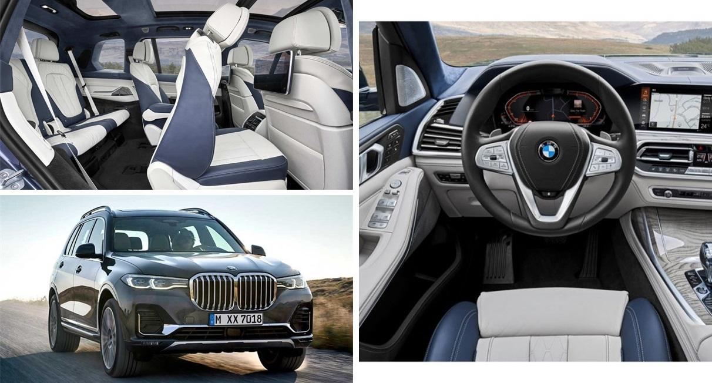 The 2020 BMW X7 xDrive40i interior design
