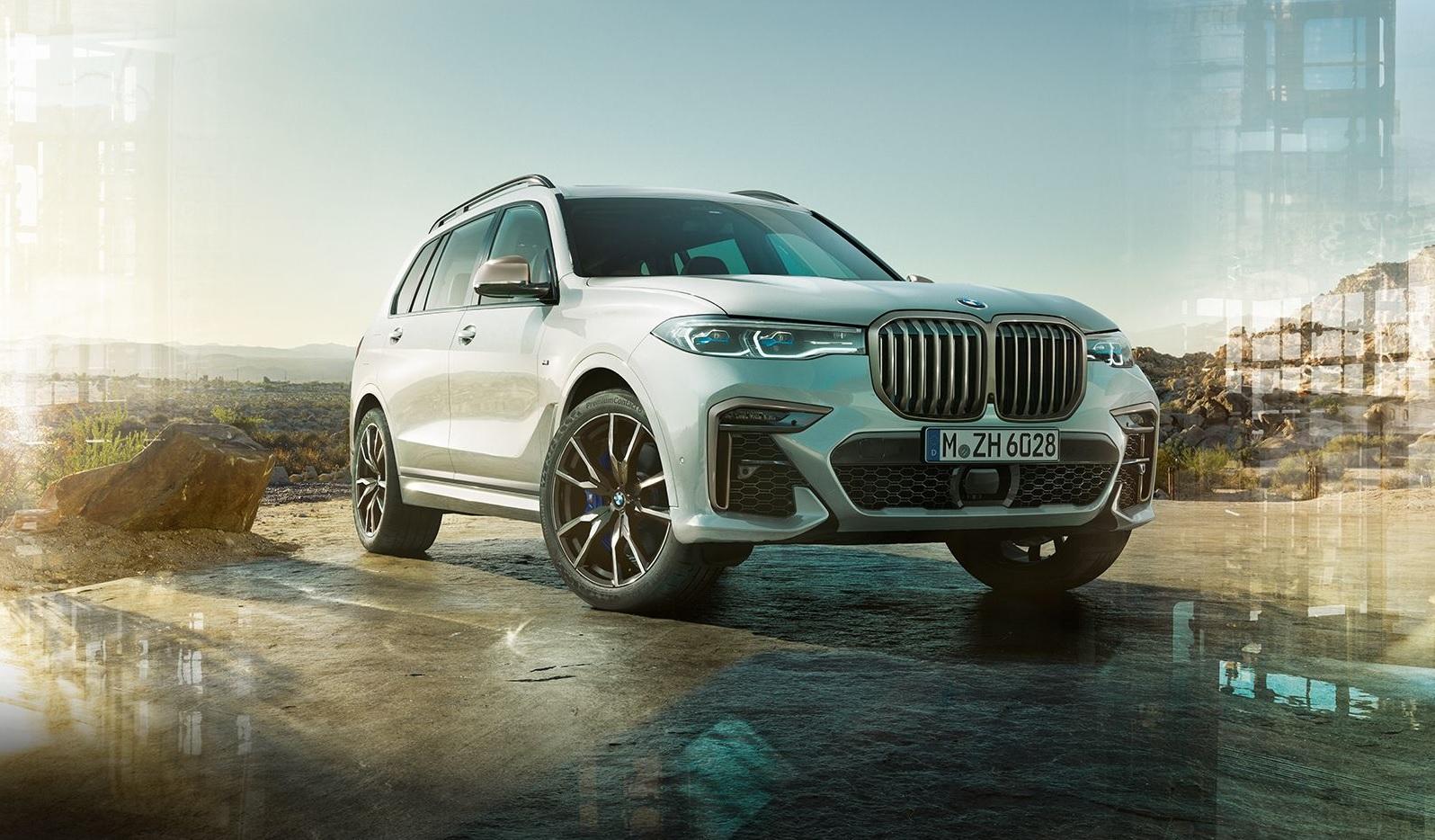 The 2020 BMW X7 M50i