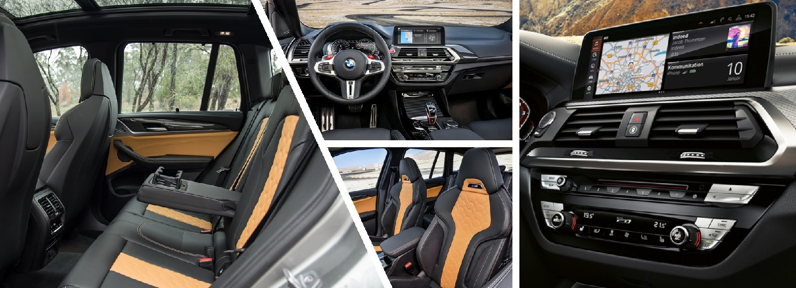 2020 BMW X3 M in Vancouver Interior Design and Infotainment