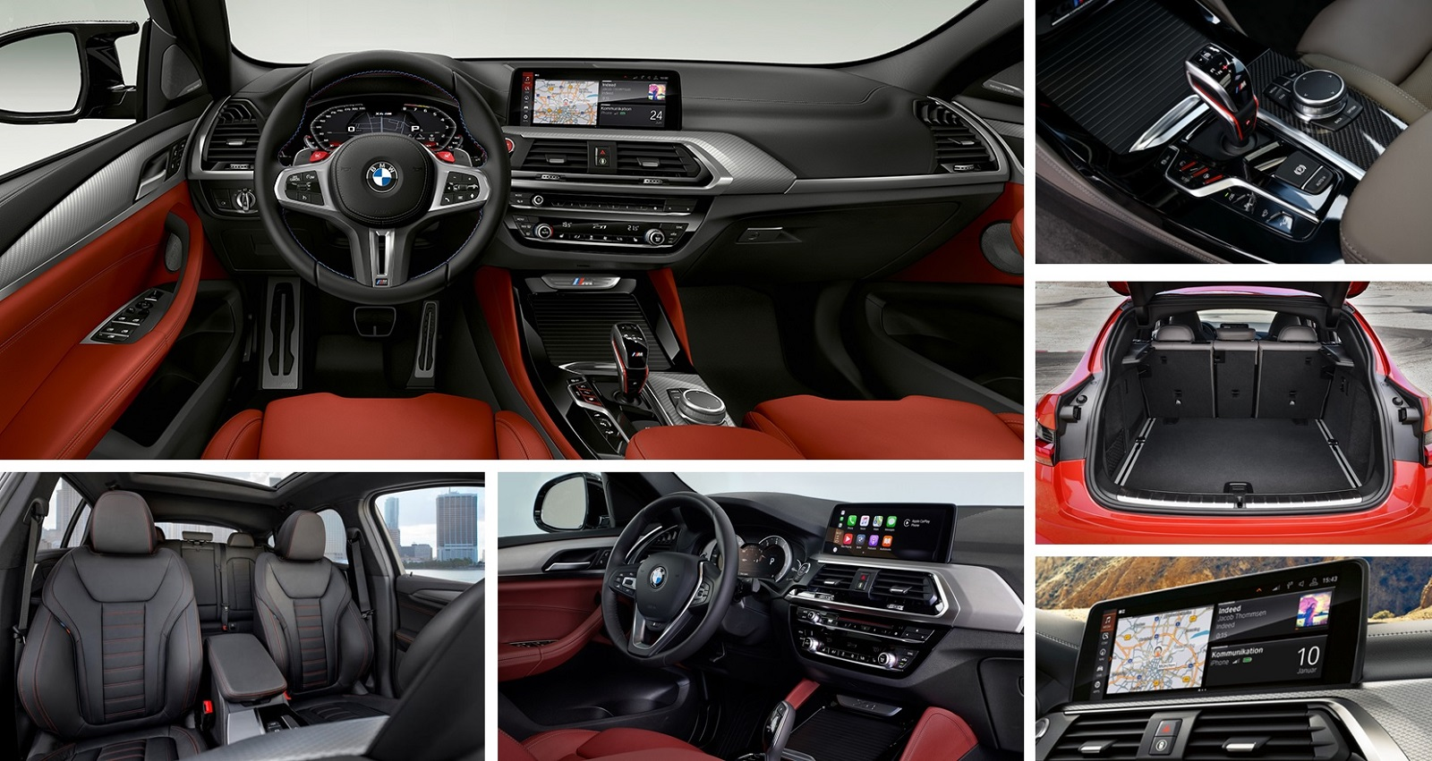 2020 BMW X4 M in Vancouver Interior Design, Infotainment, capacity and seating