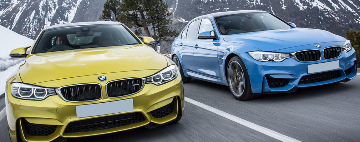 NEW BMW M3 AND M4 AGGRESSIVE STYLING