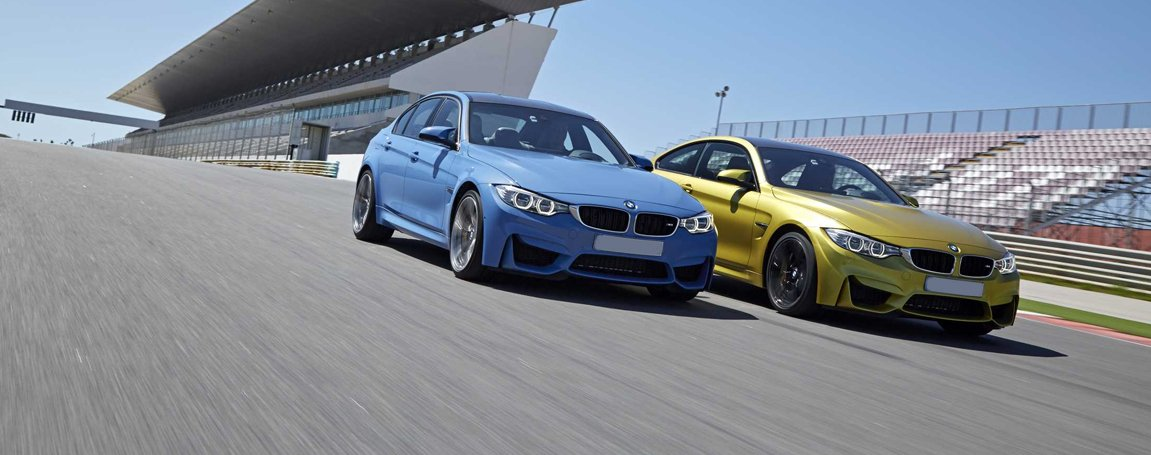 BMW M3 and M4 - Blue and Gold Exterior