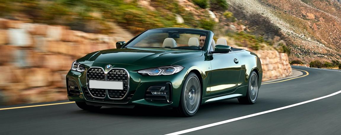 2021 BMW 4 Series Convertible | Green Exterior Convertible