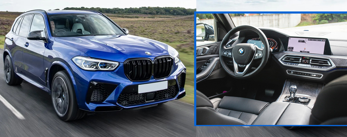 2021 BMW X5 M Features