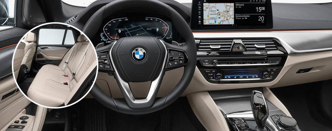 2021 BMW Series 5 - Interior Comfort