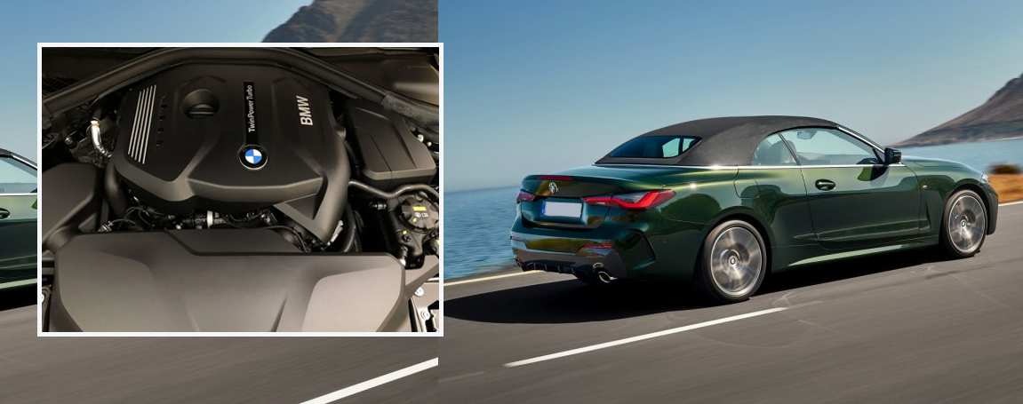 2021 BMW 4 Series - Power and Performance
