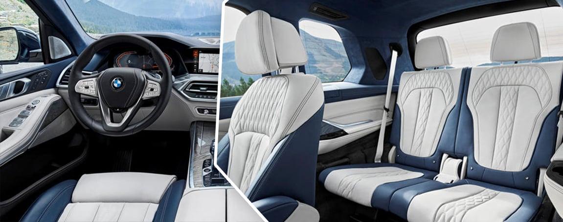 BMW X7 Interior Design and Cabin Space