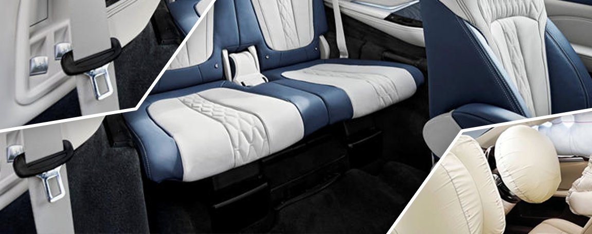 BMW X7 | Safety and Technology | Cabin Seat