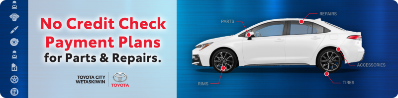 No Credit Check Payment Plans for Parts and Repairs
