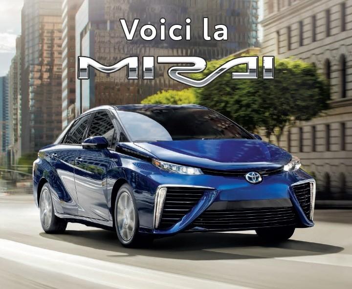 St-Hubert Toyota La toute nouvelle Mirai 2021