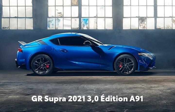 St-Hubert Toyota GR Supra 2021 3,0 Édition A91