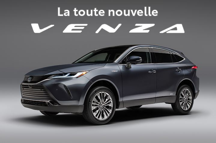 St-Hubert Toyota La toute nouvelle Venza 2021