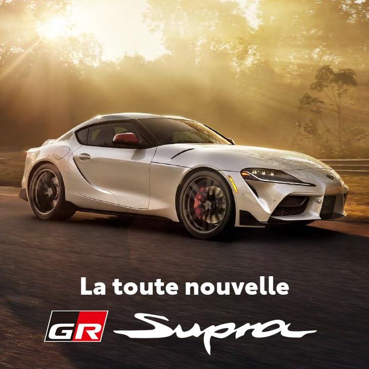 St-Hubert Toyota La nouvelle GR Supra 2021