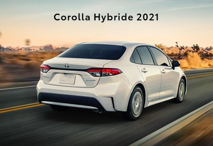 St-Hubert Toyota Corolla Hybride 2021