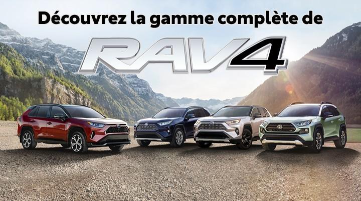 St-Hubert Toyota Les Nouveaux RAV4, RAV4 Hybride et RAV4 Prime 2021