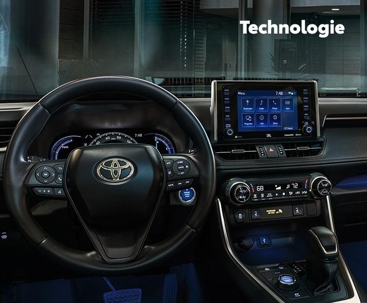 St-Hubert Toyota RAV4 2021 Technologie