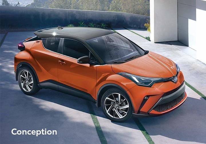 St-Hubert Toyota C-HR 2021 Conception
