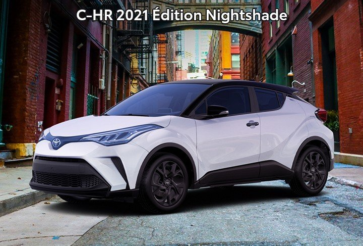 St-Hubert Toyota C-HR 2021 Édition Nightshade