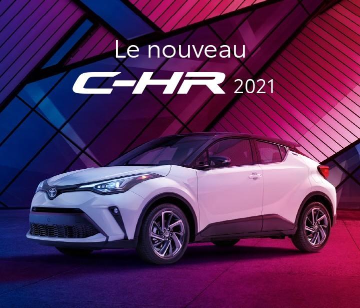 St-Hubert Toyota Le nouveau C-HR 2021