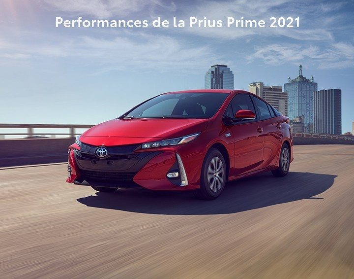 St-Hubert Toyota Performances de la Prius Prime 2021