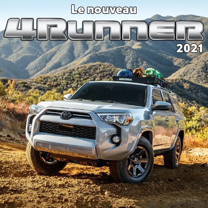 St-Hubert Toyota Le nouveau 4Runner 2021