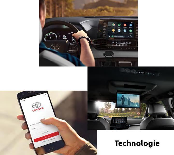 St-Hubert Toyota Sienna 2021 Technologie
