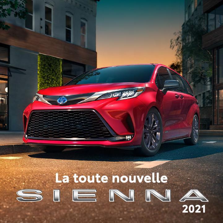 St-Hubert Toyota La toute nouvelle Sienna 2021