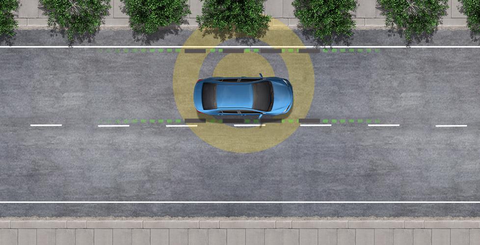 St-Hubert Toyota TSS Alerte de Sortie de Voie