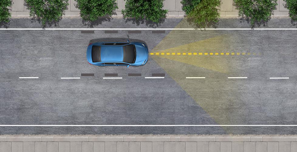 St-Hubert Toyota TSS Système d'aide au maintien dans la voie