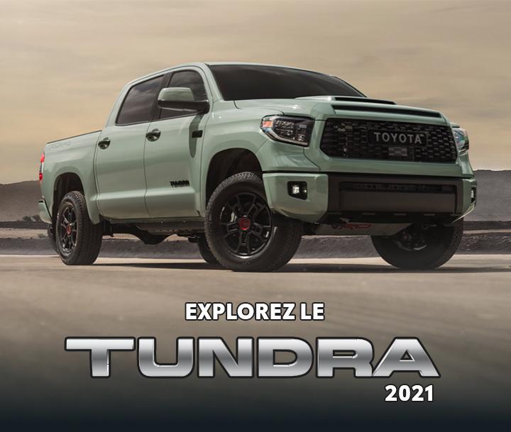 St-Hubert Toyota Le nouveau Tundra 2021