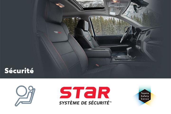 St-Hubert Toyota Tundra 2021 Sécurité